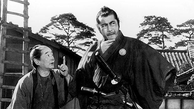 Toshiro Mifune in Yojimbo